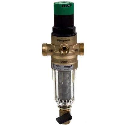 Фильтр механической очистки Honeywell для холодного водоснабжения с клапаном пониженного давления 100 мкм 1/2 дюйма