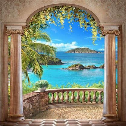 Фотообои флизелиновые Балкон 200х200 см