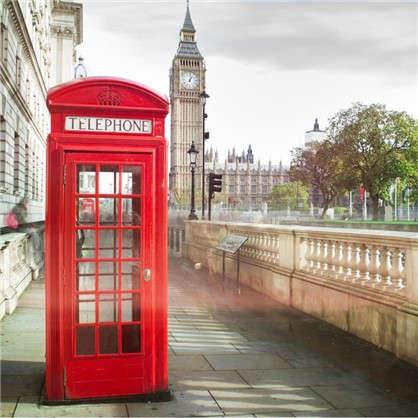 Фотообои флизелиновые Лондон 200х200 см