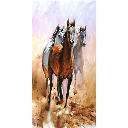 Фотообои флизелиновые Лошади 100х200 см