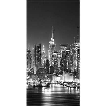 Фотообои флизелиновые Ночная панорама 100х200 см