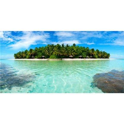 Фотообои флизелиновые Остров 200х100 см