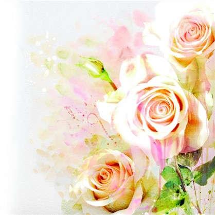 Фотообои флизелиновые Розы 200х200 cм