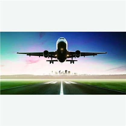 Фотообои флизелиновые Самолет 100х200 cм