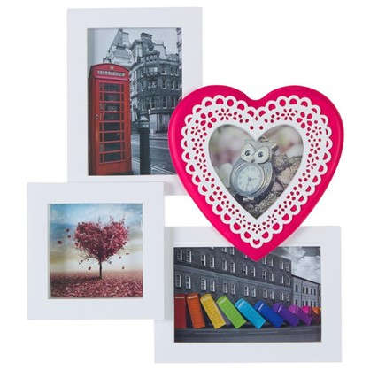 Фотосет на 4 фотографии Кружевное сердце 8052