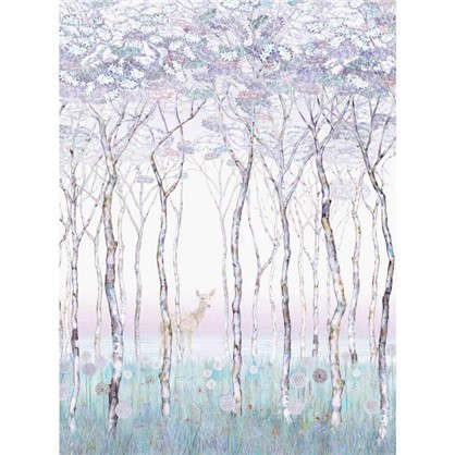 Фреска флизелиновая Весенняя роща 200х270 см