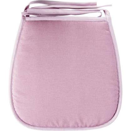 Галета для стула Савана 40x40 см цвет розовый