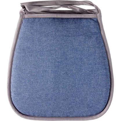 Галета для стула Савана 40x40 см цвет синий