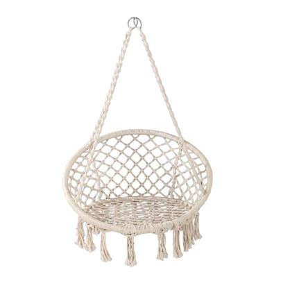 Гамак-кресло с бахромой 82x131 см хлопок (без опоры)