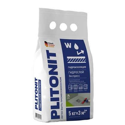 Гидроизоляция Plitonit Гидрослой Экспресс 5 кг