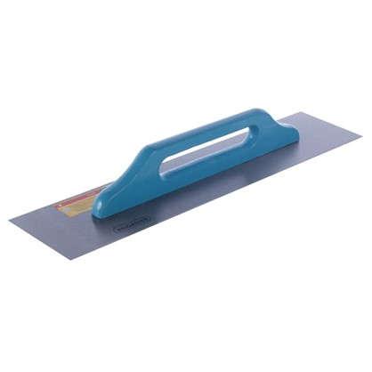 Гладилка с деревянной ручкой инструментальная сталь 580х130 мм