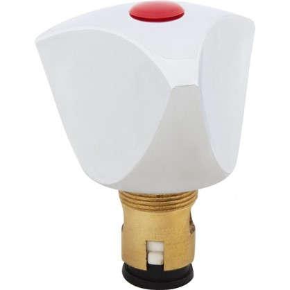Головка вентильная керамическая М18х1 латунь цвет хром