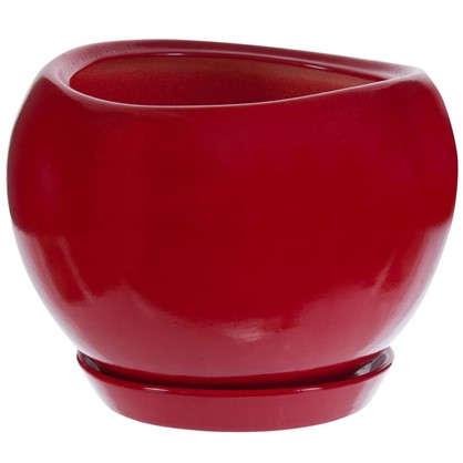 Горшок цветочный Адель d20 см керамика цвет красный