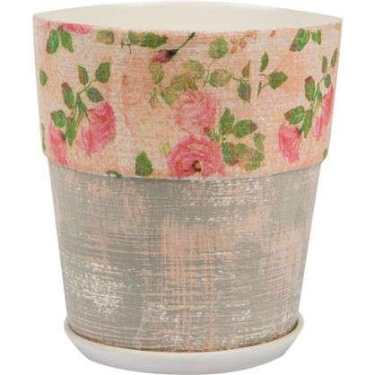 Горшок цветочный Бонди №3 1.5 л 150 мм глина