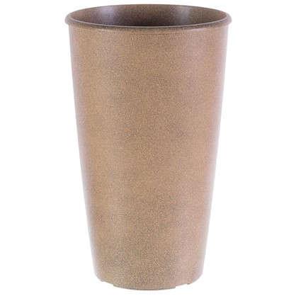 Горшок цветочный Коне терракот 18.5 л 280 мм пластик