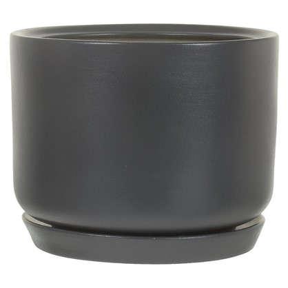 Горшок цветочный Орфей d24 см керамика цвет серый