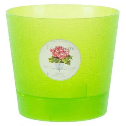 Горшок цветочный Орхидея светло-зелёный 1.4 л 150 мм пластик