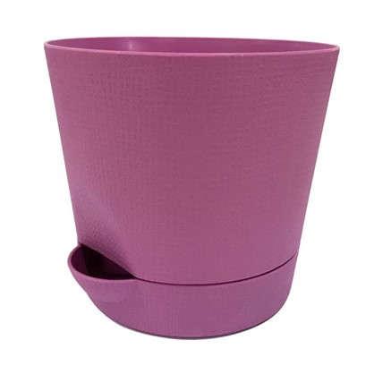 Горшок цветочный Партер сирень 0.35 л 95 мм пластик