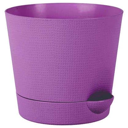 Горшок цветочный Партер сирень 1.4 л 150 мм пластик