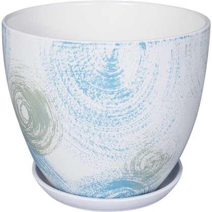 Горшок цветочный Помпадур №3 1.5 л 150 мм глина