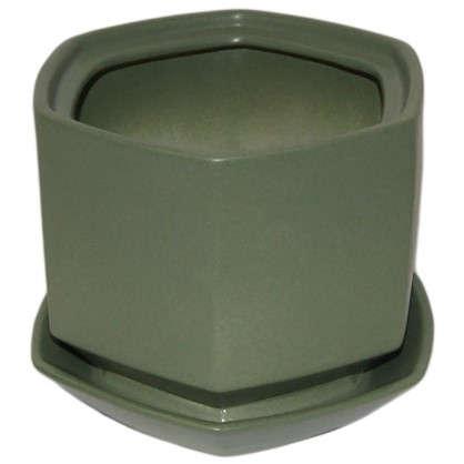 Горшок цветочный Шартрез №2 0.8 л 120 мм глина