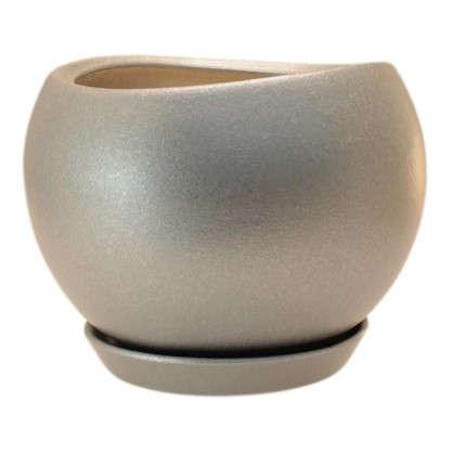 Горшок цветочный Шебби Шик №2 0.8 л 120 мм глина