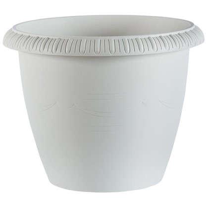Горшок цветочный Жардин серый 28.8 л 450 мм пластик