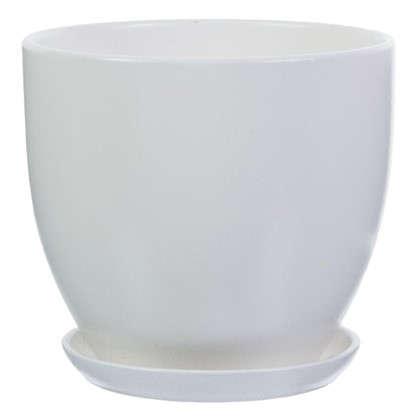 Горшок Колор гейм белый d22 см 4.8 л