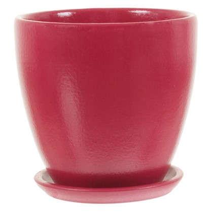 Горшок Колор гейм красный d12 см 0.8 л