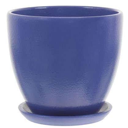 Горшок Колор гейм синий d15 см 1.5 л