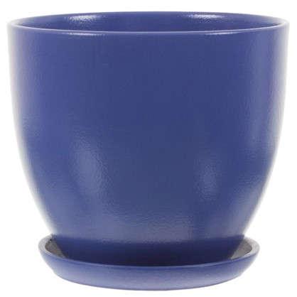 Горшок Колор гейм синий d22 см 4.8 л