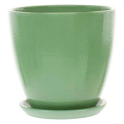 Горшок Колор гейм зеленый d12 см 0.8 л
