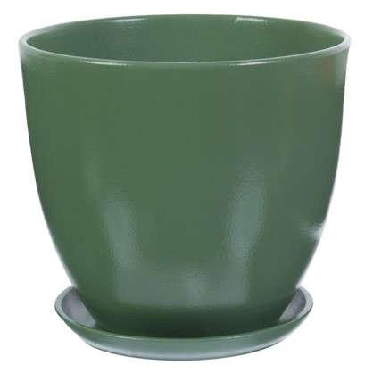 Горшок Колор гейм зеленый d22 см 4.8 л