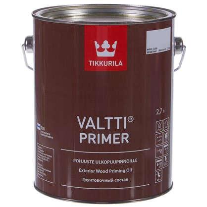 Грунт-антисептик Valti Primer бесцветный 2.7 л