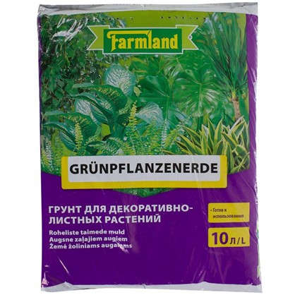 Грунт для декаративно-лиственных растений 10 л