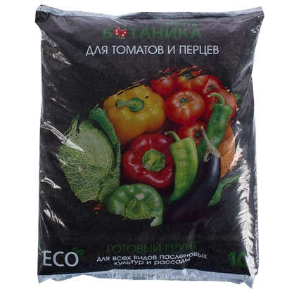Грунт для томатов и перцев Мечта Ботаника 10 л