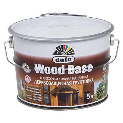 Грунт с биоцидом Dufa Wood Base бесцветный 5 л