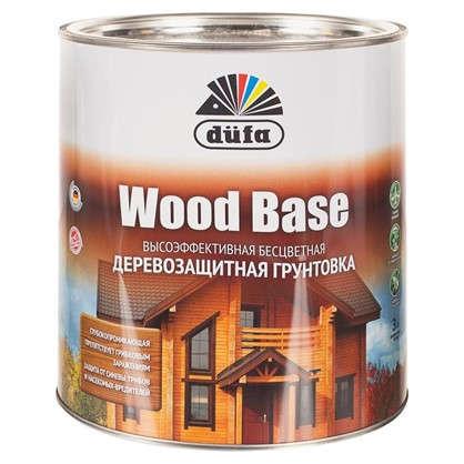 Грунт с биоцидом Wood Base бесцветный 3 л