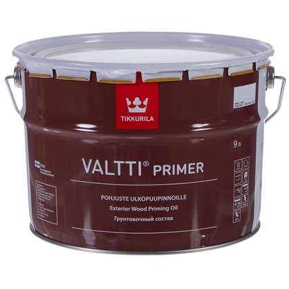 Грунтовка антисептическая Tikkurila Valtti Primer бесцветный 9 л