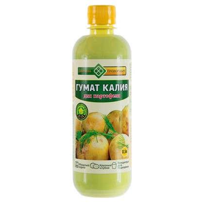 Гумат Калия Долина плодородия для картофеля 0.5 л