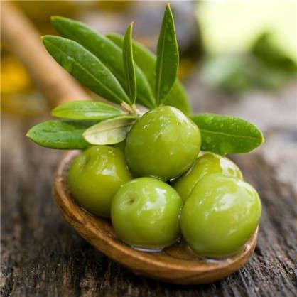 Холст 20х20 см Зеленые оливки