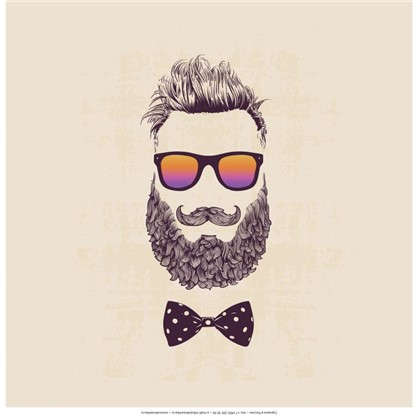 Холст 30х30 см Hipster