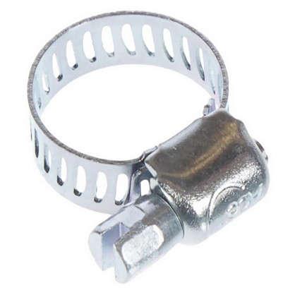 Хомут стальной 08-12 мм 2 шт.