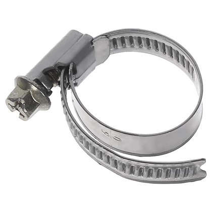 Хомут стальной Inox 08-25 мм 2 шт.
