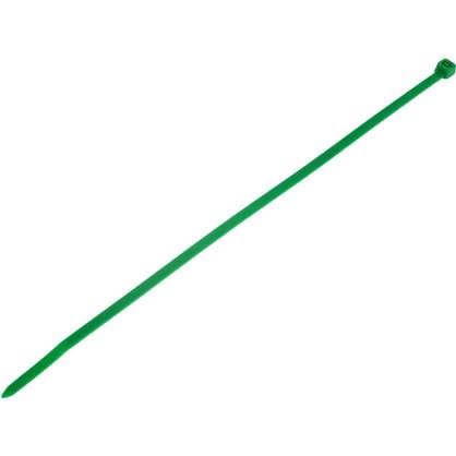 Хомуты кабельные 200х3.5 мм цвет зеленый 25 шт.