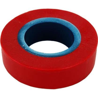 Изолента Эконом 0.13х19 мм 17 м цвет красный
