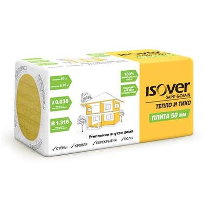 Изоляция Isover Плита 50 мм 5.76 м2