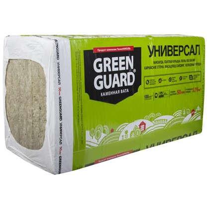 Каменная вата GreenGuard УНИВЕРСАЛ 50 мм в
