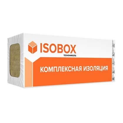 Каменная вата ISOBOX ЭКСТРАЛАЙТ 100 мм 432 м2