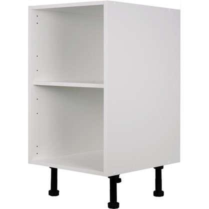 Каркас напольный угловой скошенный 40х56х70 см ЛДСП цвет белый